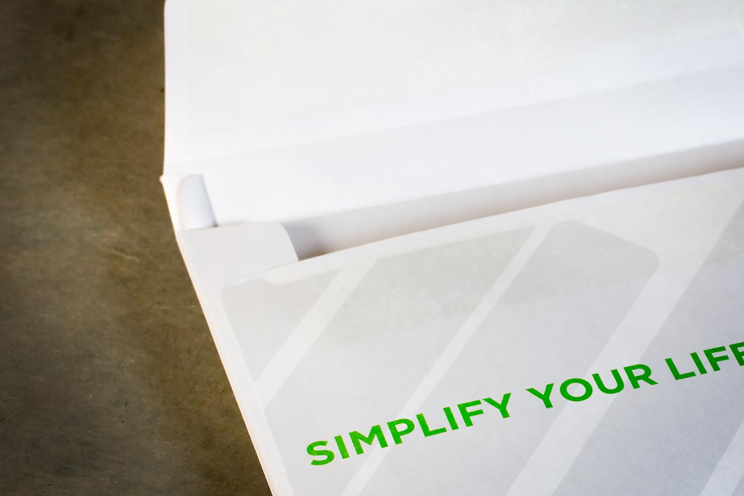 Use a center seam or expansion to maximize your envelope's capacity