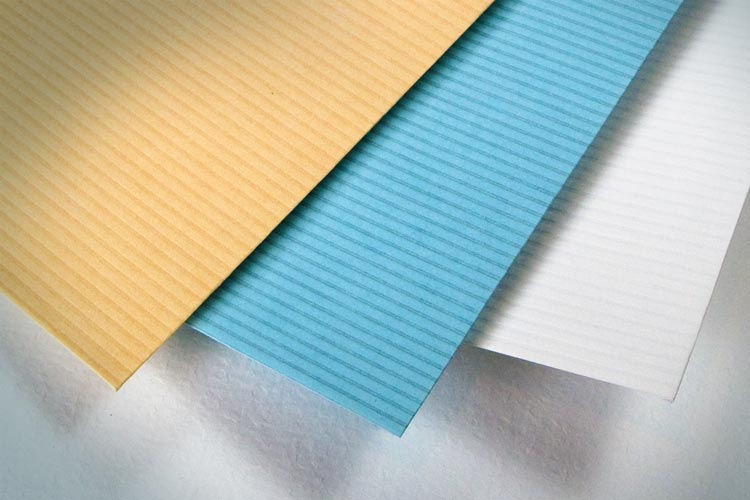 Economical approach to improve an envelope's appearance and give a feel of luxury