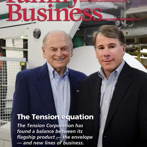 Tension Equation, Family Business Magazine